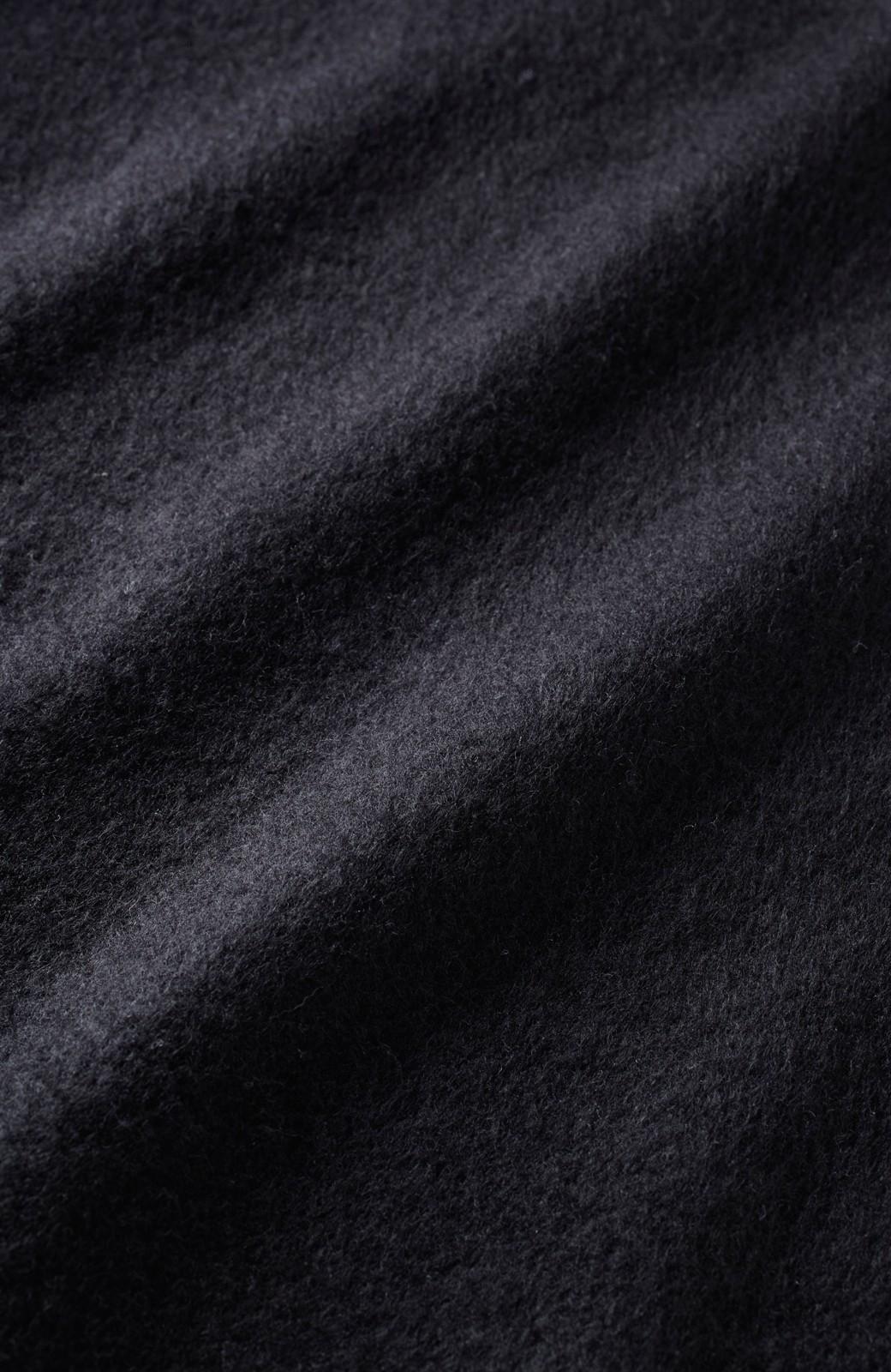 エムトロワ フェルトライク起毛カットソートップス <ブラック>の商品写真2
