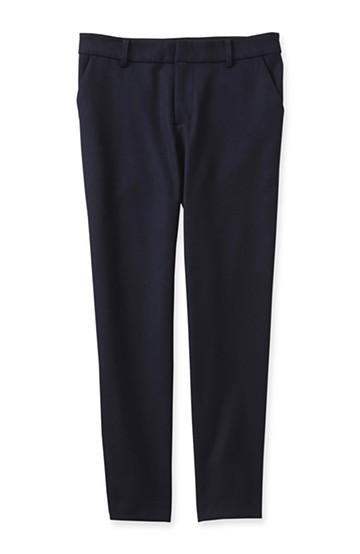エムトロワ きれいシルエットの定番パンツ <ネイビー>の商品写真