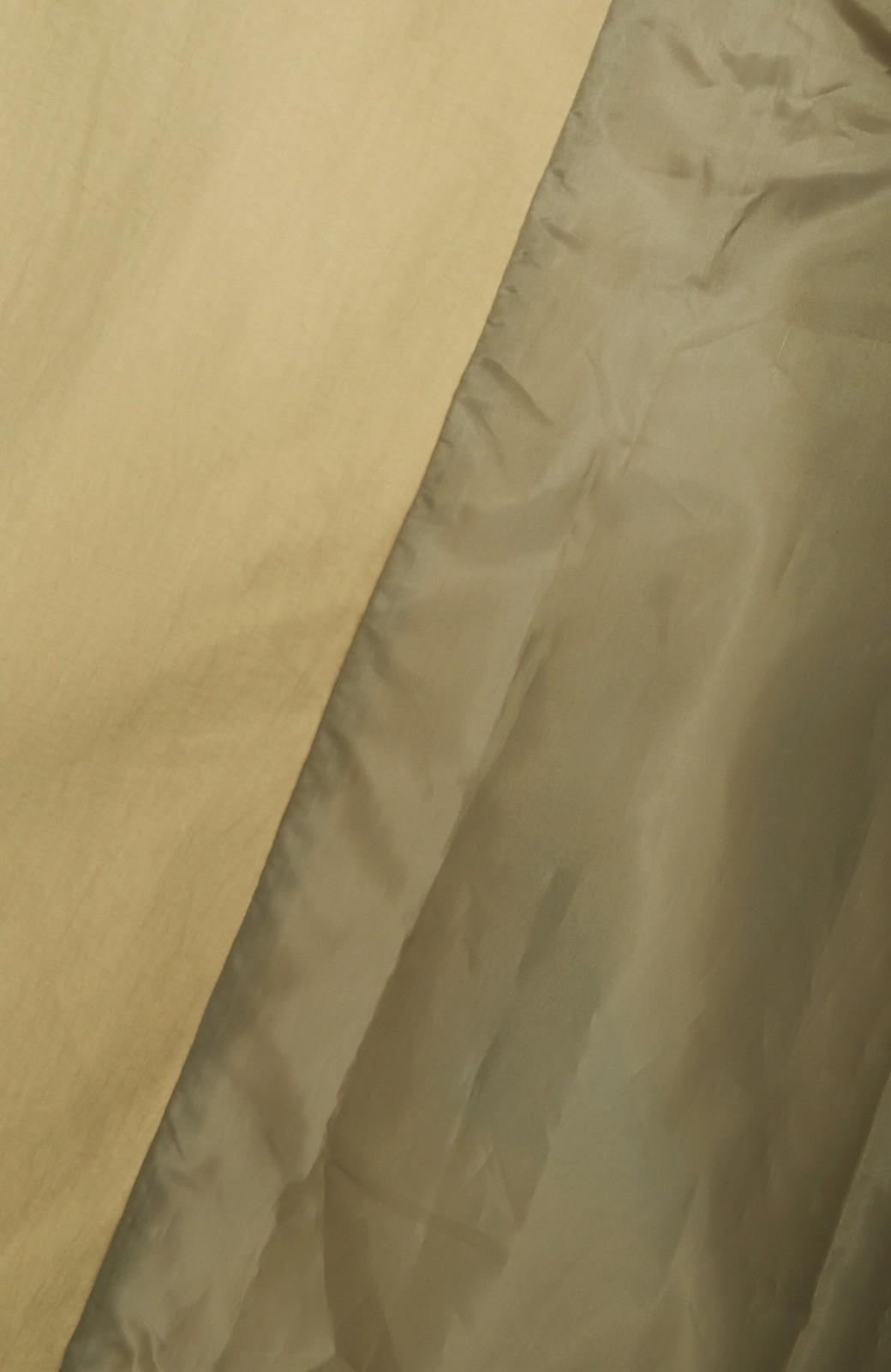 エムトロワ ぱっと羽織るだけで様になる、簡単ロングガウントレンチコート <ベージュ>の商品写真4