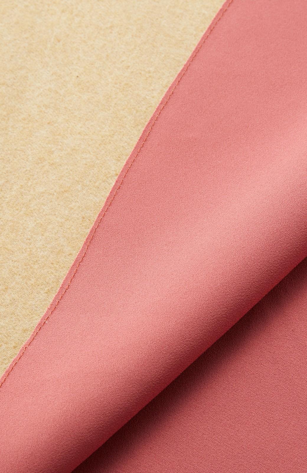 エムトロワ 【mer1月号掲載】きれい色もあったかも楽しめるリバーシブルフレアースカート <ベージュ>の商品写真15