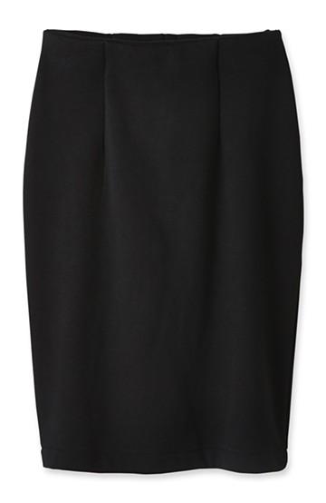 nusy 裏シャギー起毛のブランケットスカート <ブラック>の商品写真