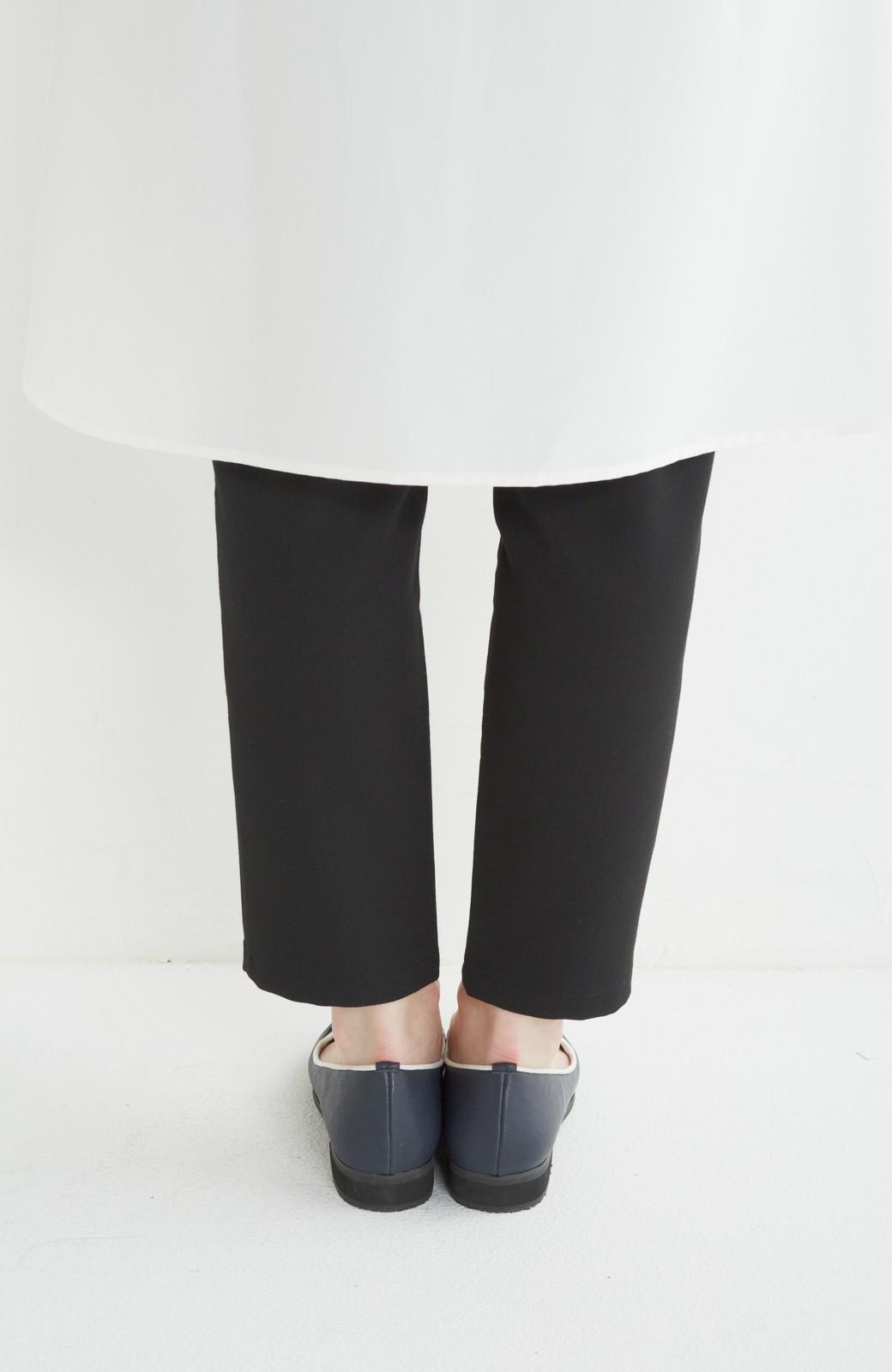 nusy 【mer11月号】足もとポイントのタッセルフラットシューズ <ネイビー>の商品写真5