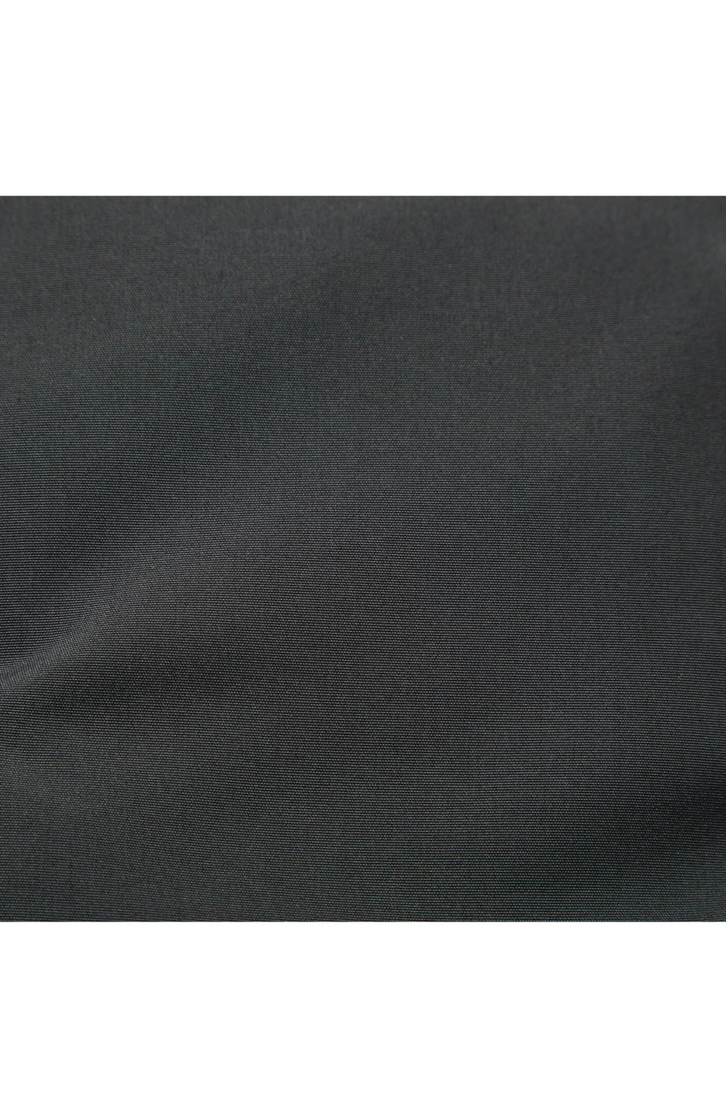 SHE THROUGH SEA #セパレートロングダウンコート <ブラック×ブラック>の商品写真6
