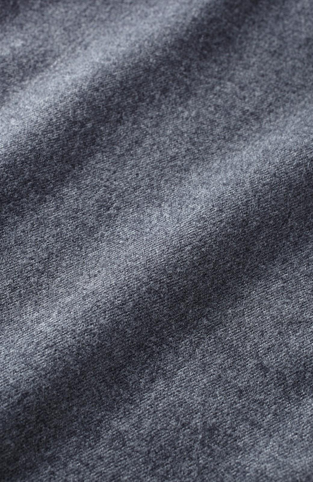 SHE THROUGH SEA きれいめリラクシンパンツ <杢グレー>の商品写真3
