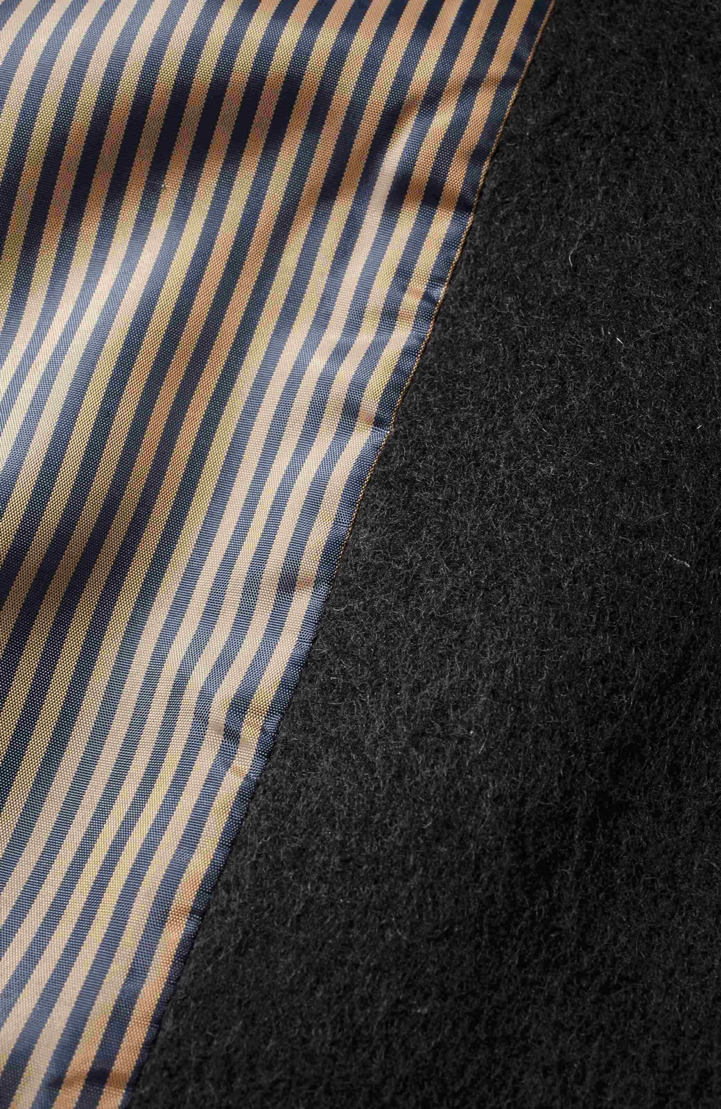 エムトロワ MADE IN JAPAN生地を使用したノーカラーコート <ブラック>の商品写真3