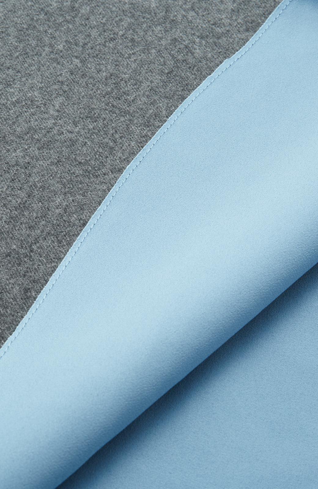 エムトロワ 【mer1月号掲載】きれい色もあったかも楽しめるリバーシブルフレアースカート <杢グレー>の商品写真17