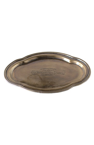 haco! TOOLS BRASS TRAY-OVAL- <ゴールド>の商品写真