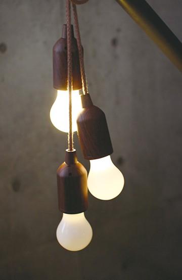 haco! ROPE LAMP <ブラウン系その他>の商品写真
