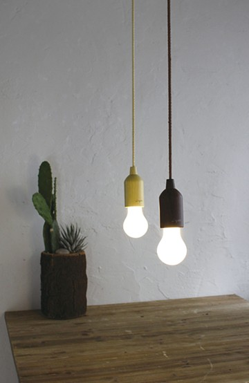 haco! ROPE LAMP <ベージュ系その他>の商品写真