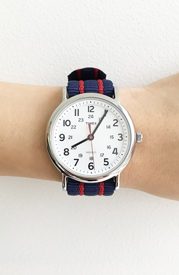 haco! TIMEX Weekender Central Park <ブルー系その他>の商品写真