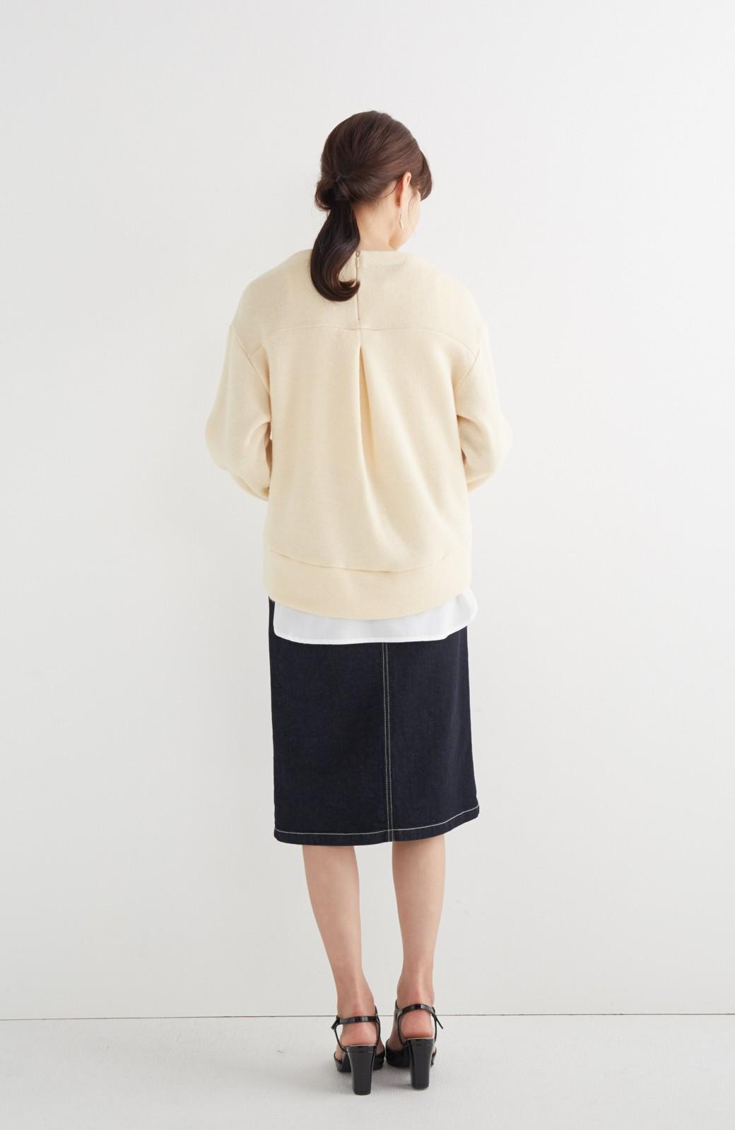 エムトロワ 【mer1月号掲載】大人っぽくはきたいフリンジデニムスカート <インディゴブルー>の商品写真16
