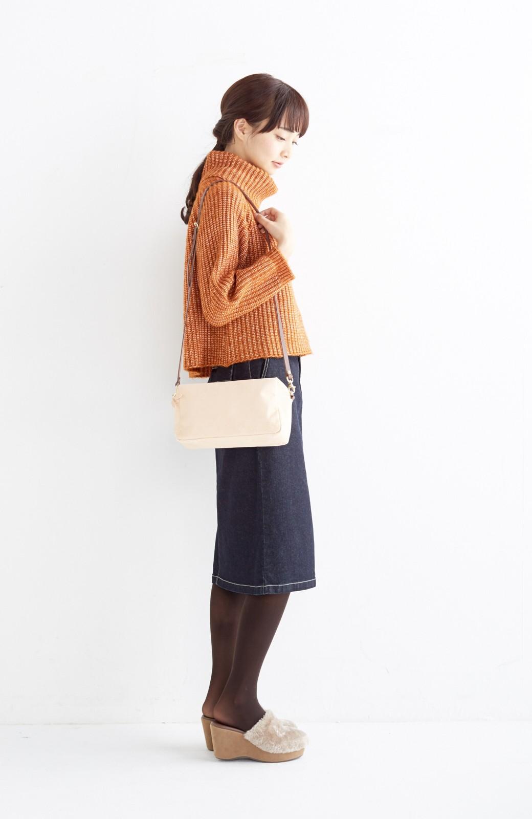エムトロワ 【mer1月号掲載】大人っぽくはきたいフリンジデニムスカート <インディゴブルー>の商品写真15
