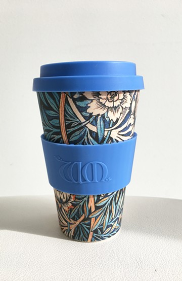 haco! ecoffee cup – William Morris 14oz <ブルー;Thicf>の商品写真