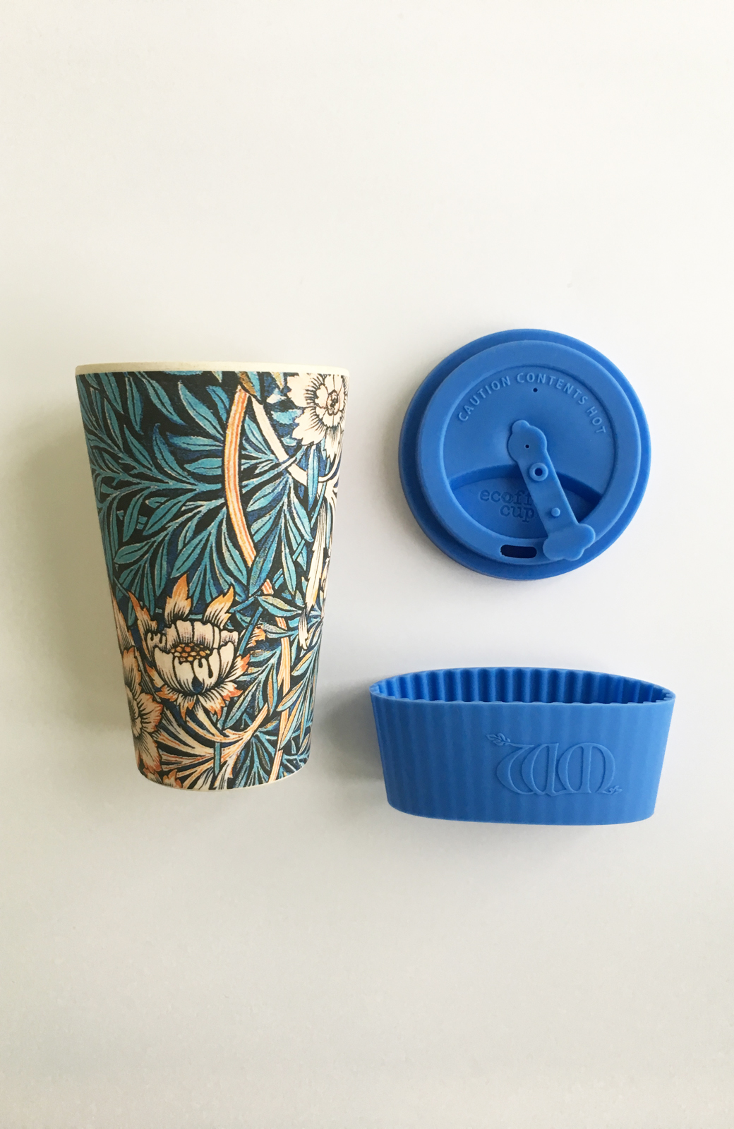 haco! ecoffee cup – William Morris 14oz <ブルー;Thicf>の商品写真3