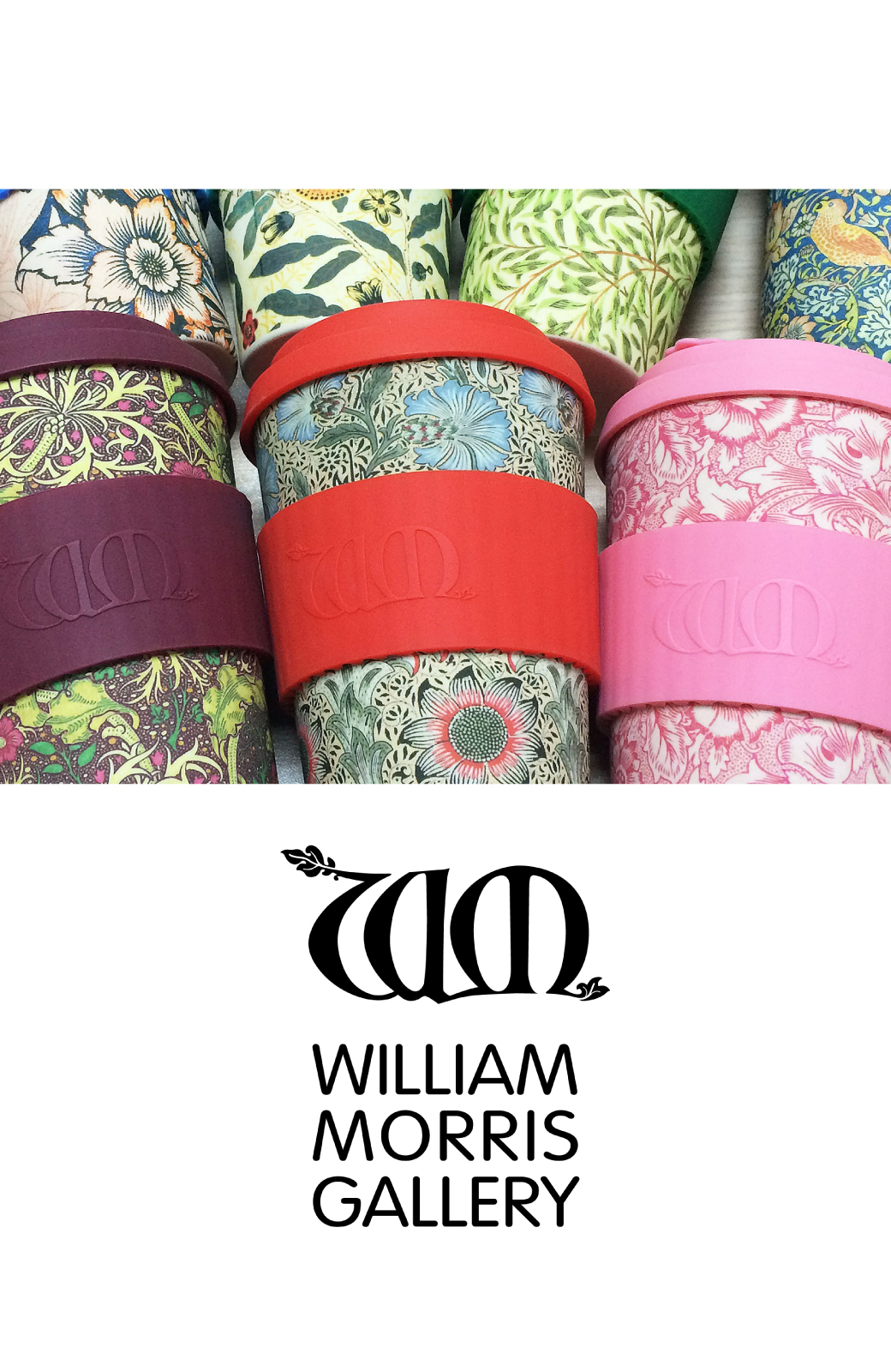 haco! ecoffee cup – William Morris 14oz <ピンク系その他;Poppy>の商品写真6