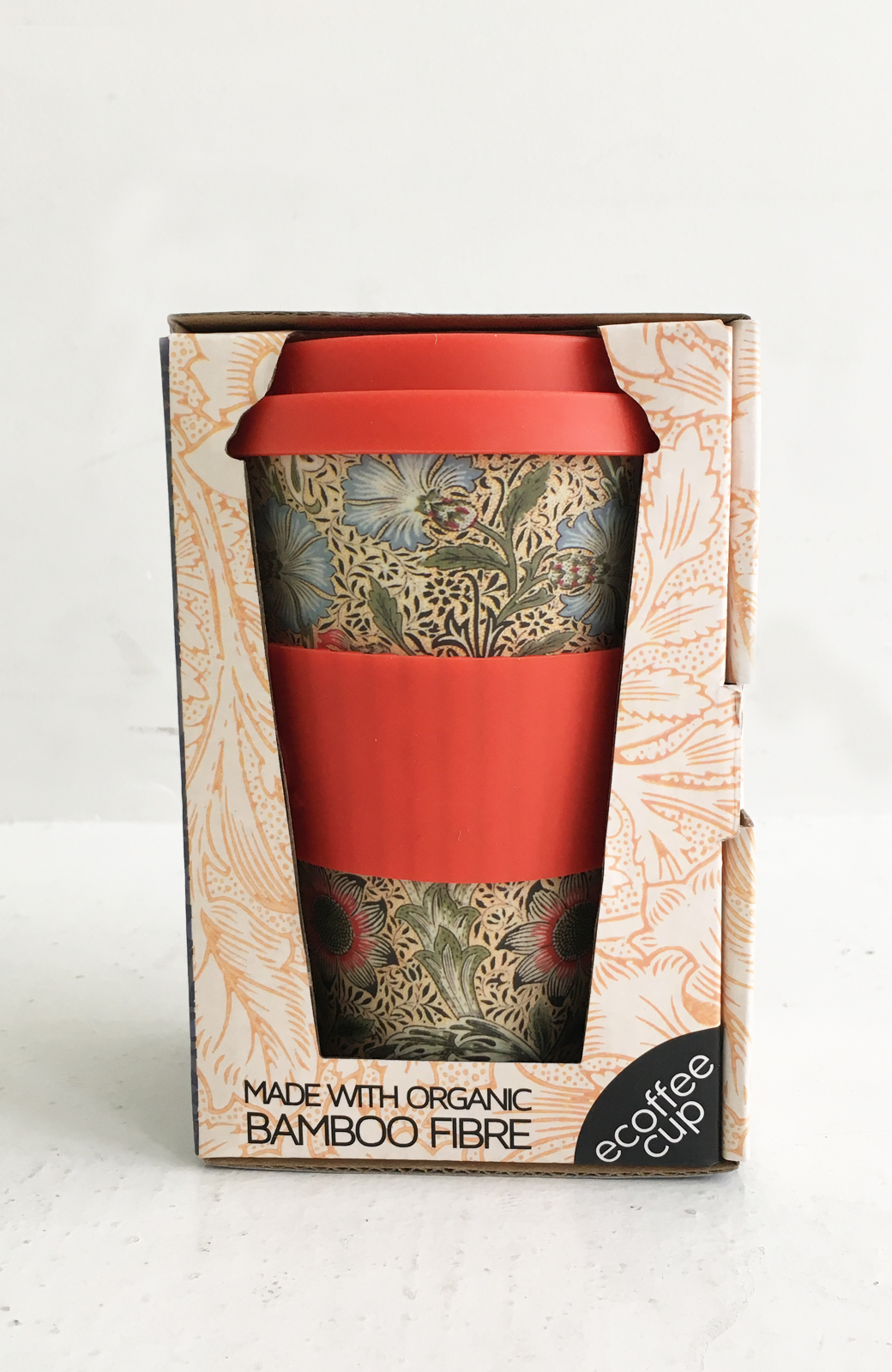 haco! ecoffee cup – William Morris 14oz <レッド系その他;Corncockle>の商品写真2