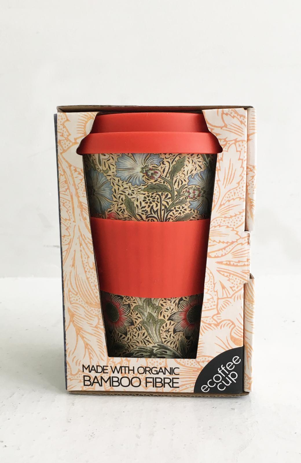 haco! ecoffee cup – William Morris 14oz <レッド系その他;Corncockle>の商品写真2