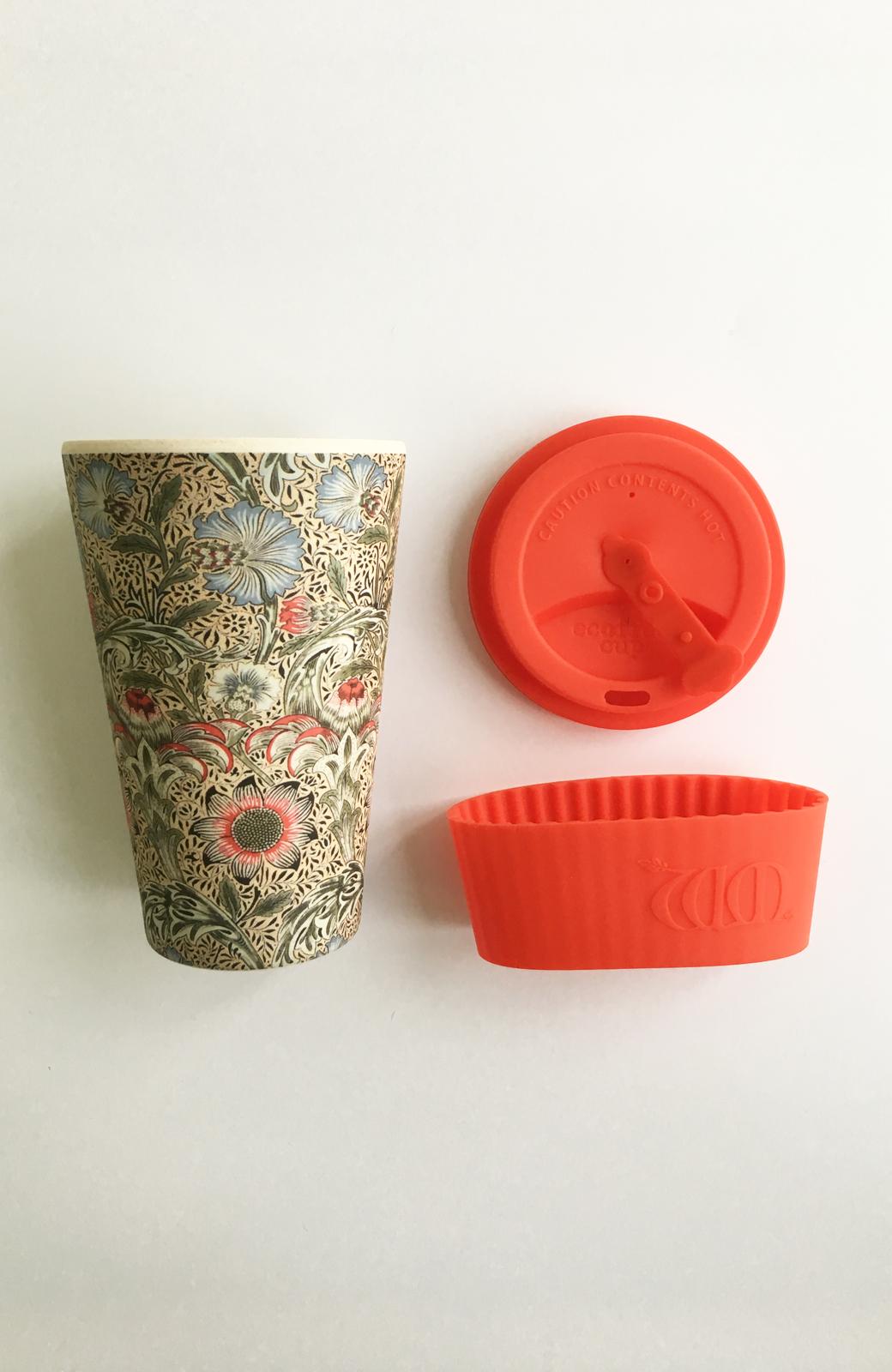 haco! ecoffee cup – William Morris 14oz <レッド系その他;Corncockle>の商品写真3