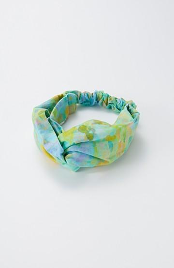 haco! UNICOLART KOHAYAKAWA KIRIKO [砂] 顔まわりが華やかになるカチューム <ブルー系その他>の商品写真
