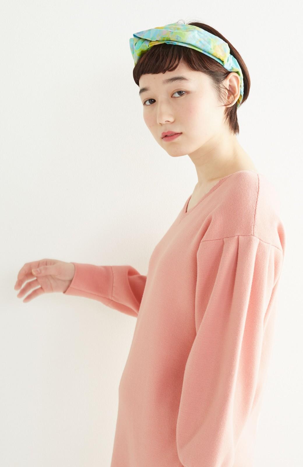 haco! UNICOLART KOHAYAKAWA KIRIKO [砂] 顔まわりが華やかになるカチューム <ブルー系その他>の商品写真6