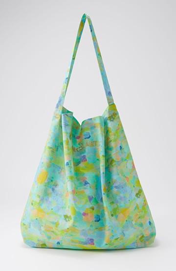 haco! UNICOLART KOHAYAKAWA KIRIKO [砂] 気軽に使えるコットントートバッグ <ブルー系その他>の商品写真