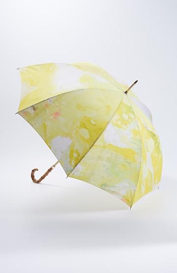 haco! UNICOLART MIYAMOTO KENSHIRO [華/黄色] 晴れた日よりも晴れやかな気分になれそうな雨傘 <イエロー系その他>の商品写真