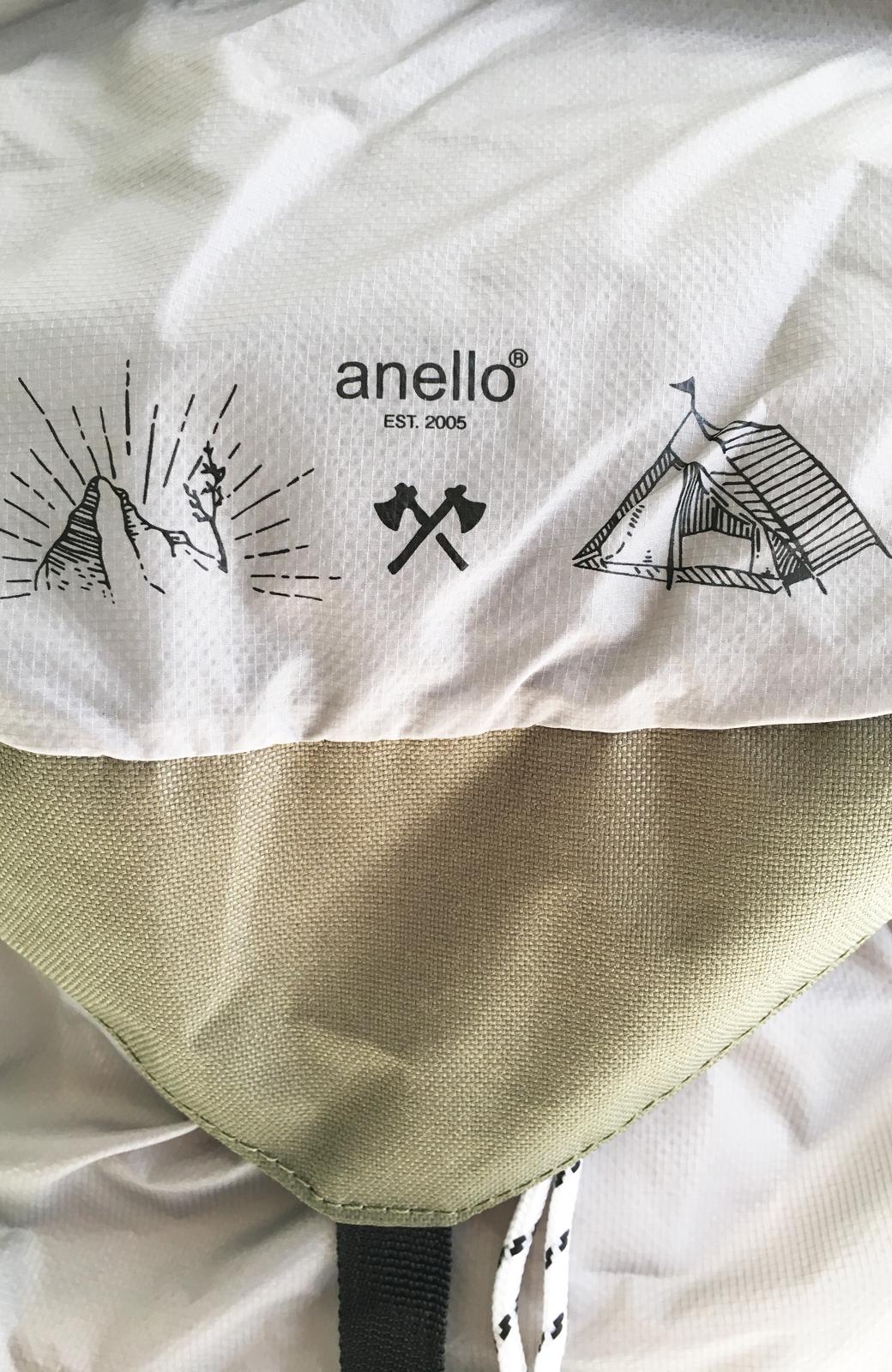 haco! anello 折りたたみバックパック <ライトグレー>の商品写真3