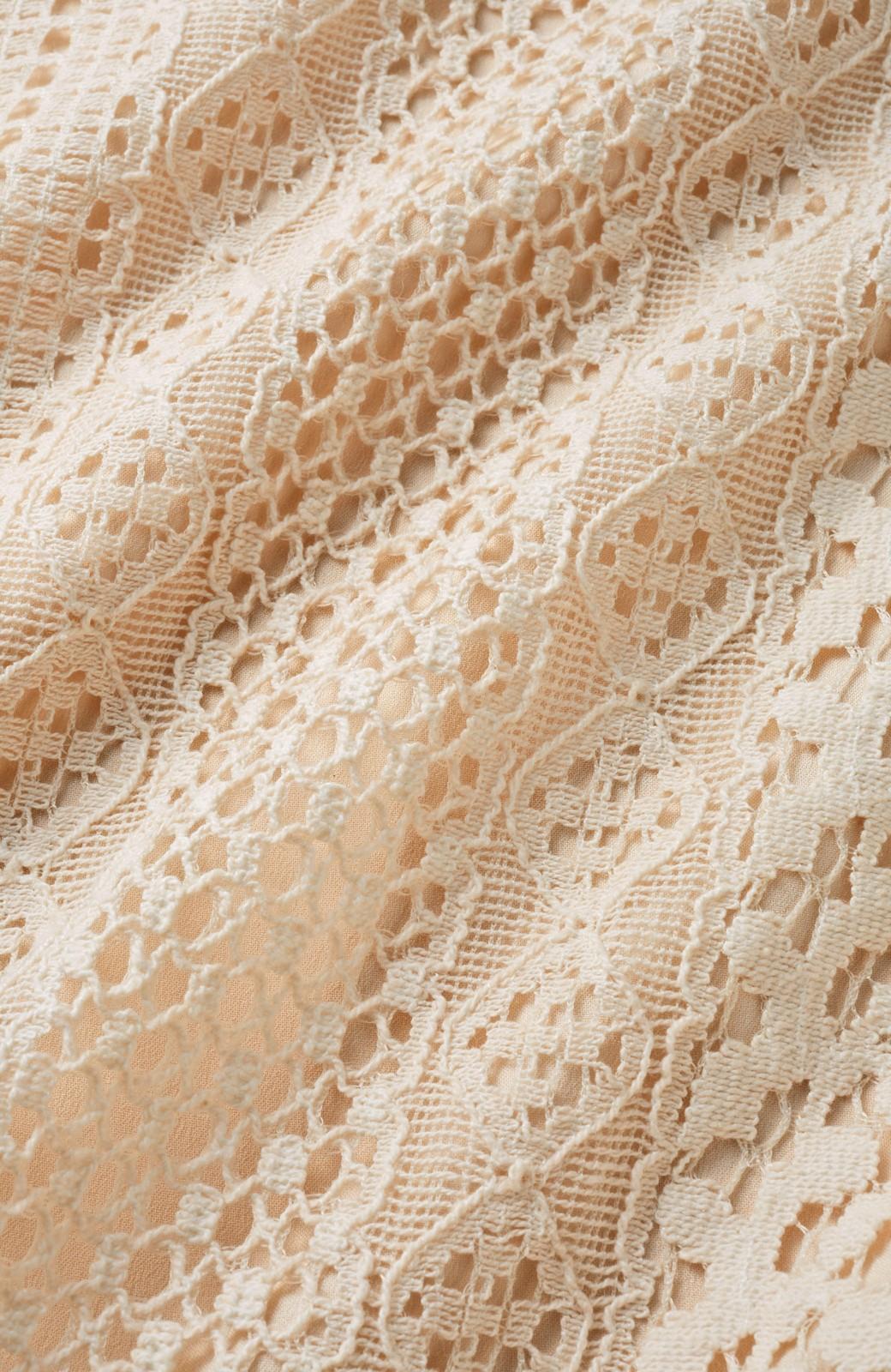 nusy 【mer6月号掲載】リバーシブルで着やすい 梅にうぐいす刺しゅうの華やかブルゾン <ピンクベージュ>の商品写真5