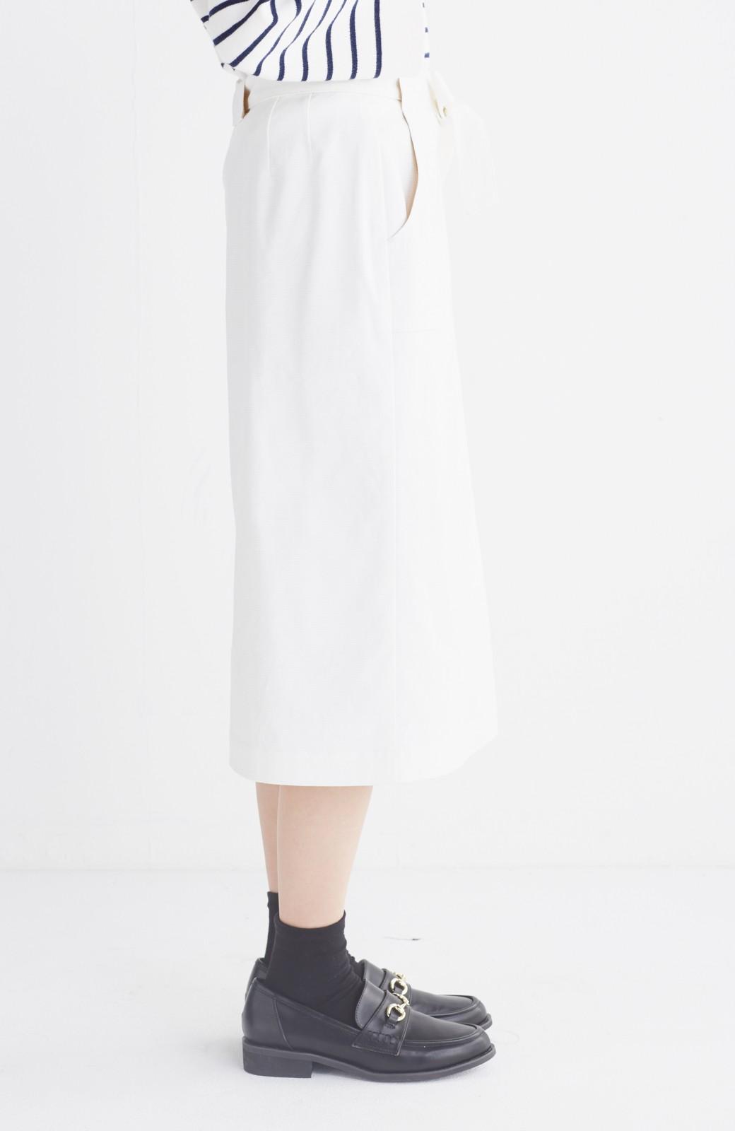 haco! パッと着るだけで女らしくてかっこいい ラップ風スカート by que made me <ホワイト>の商品写真14