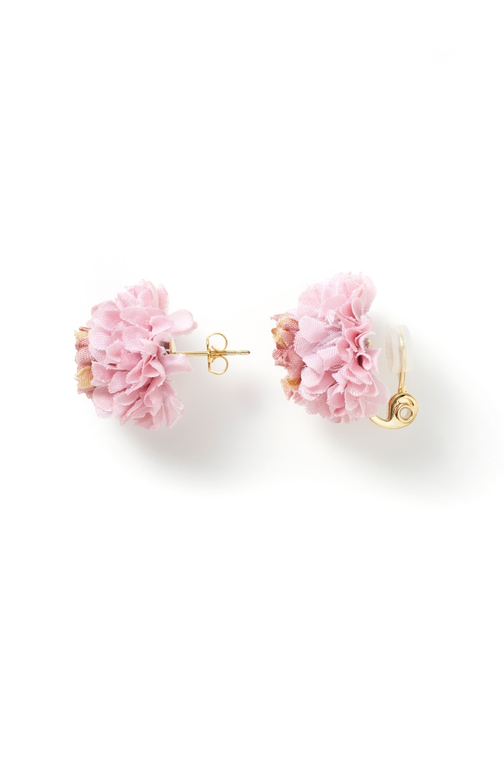 haco! 気分も顔まわりも華やかになる お花のピアス&イヤリング <ピンク>の商品写真3