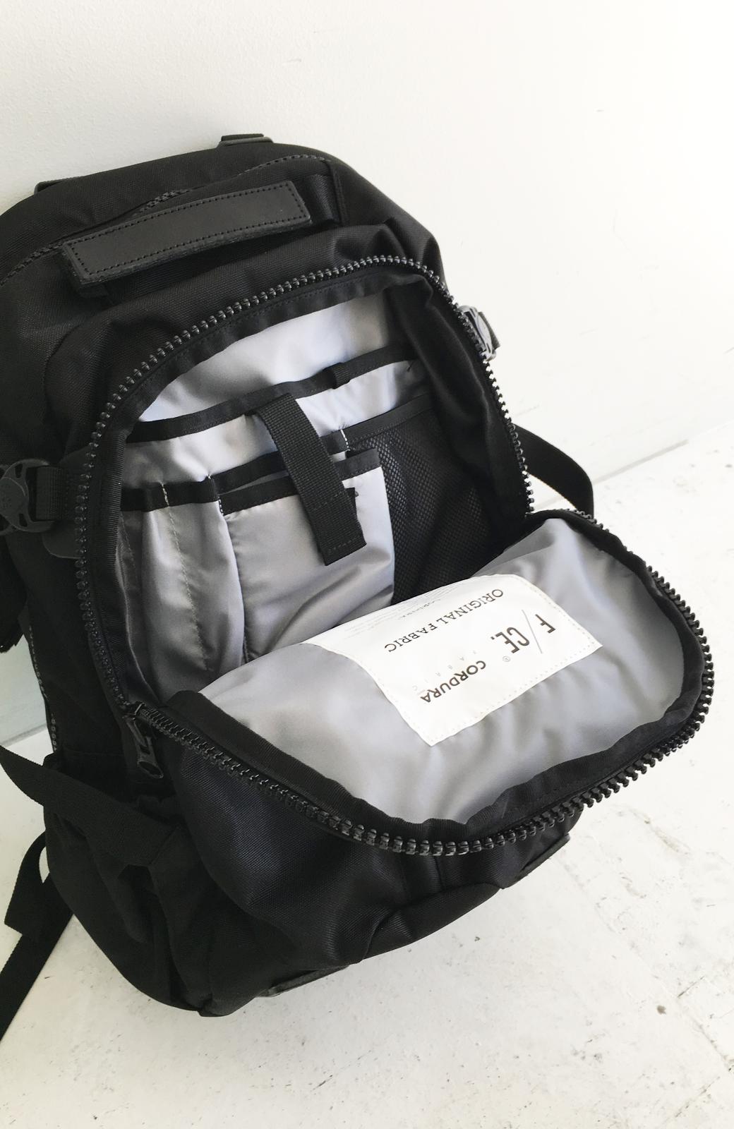 haco! F/CE.950 TRAVEL バックパック <ブラック>の商品写真7
