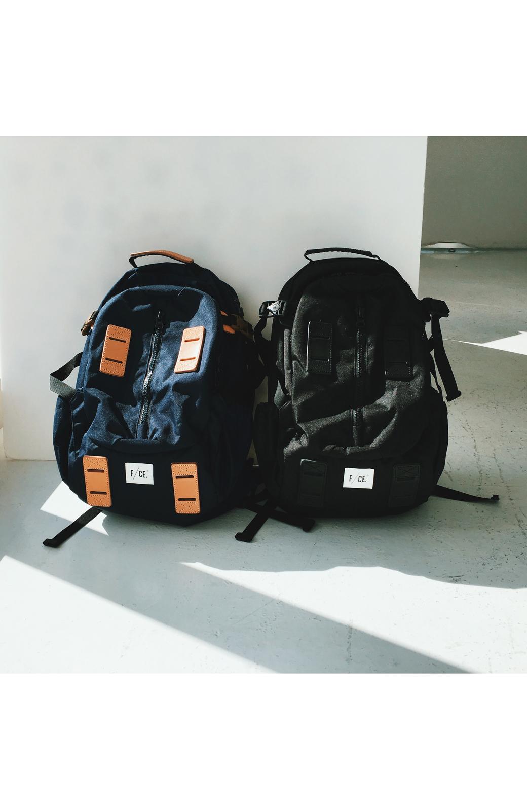 haco! F/CE.950 TRAVEL バックパック <ブラック>の商品写真23