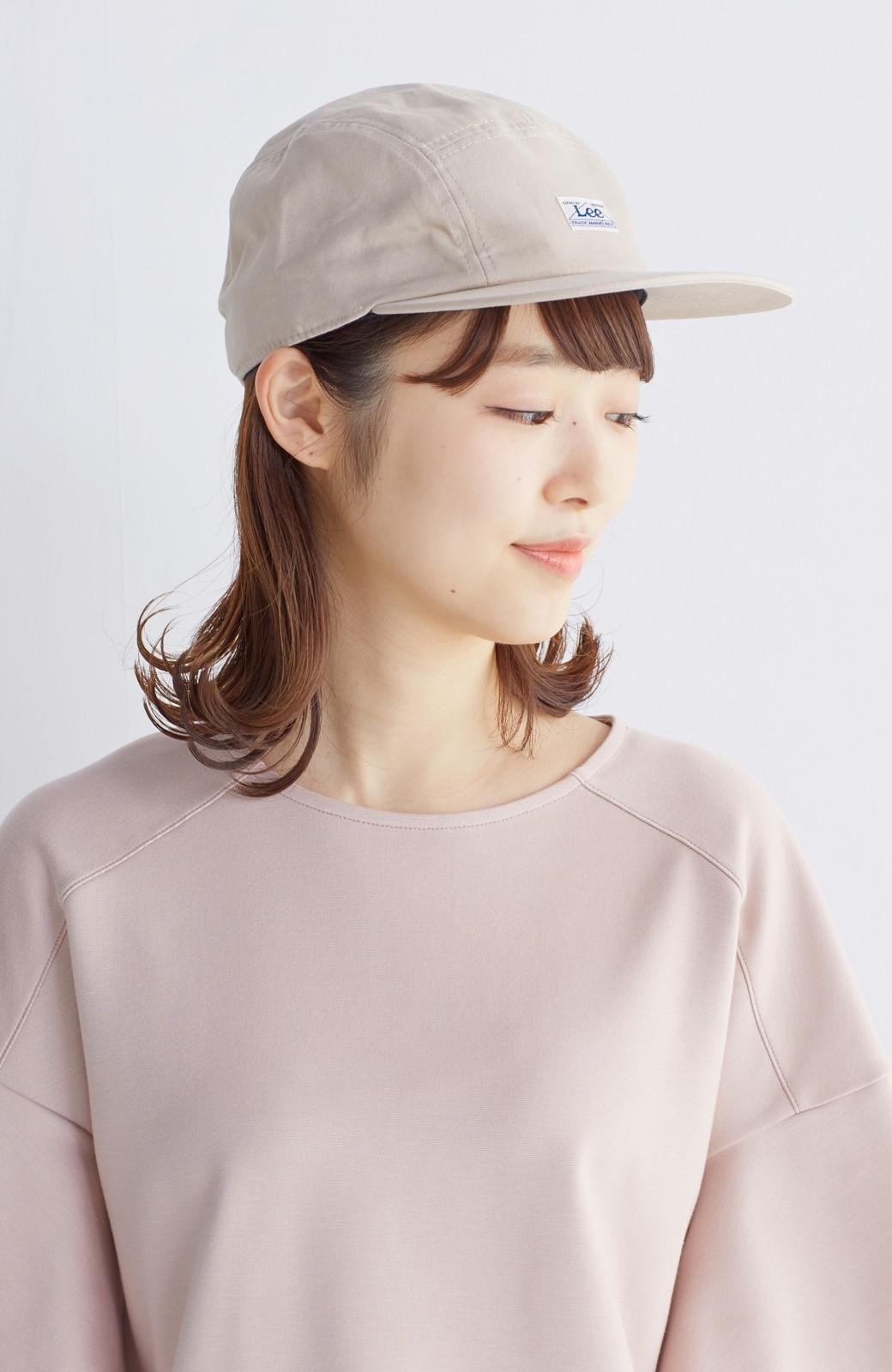 haco! Lee 女の子がかぶってもかわいいジェットキャップ <ベージュ>の商品写真4