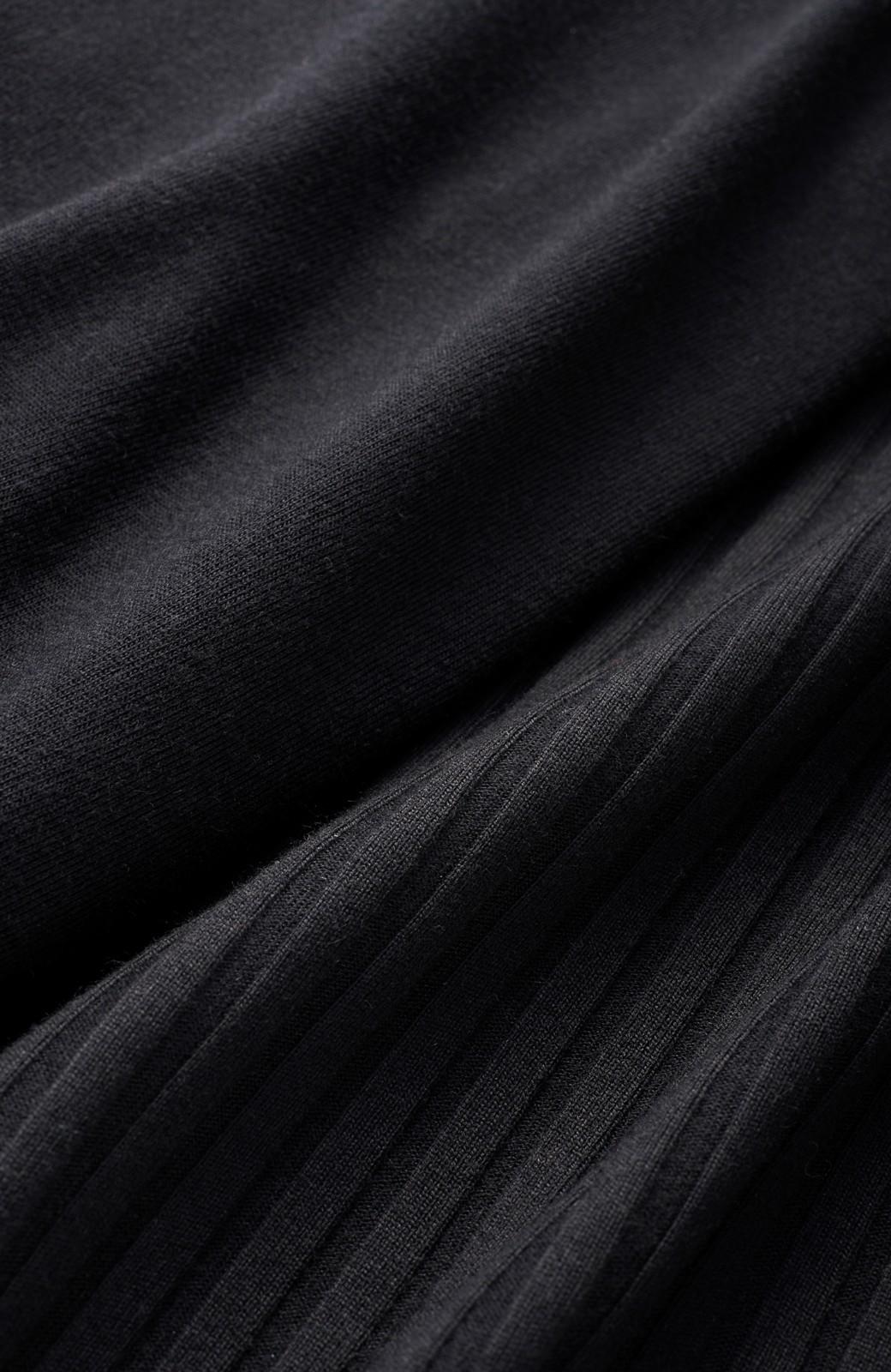 haco! 旅の救世主!3泊4日のテレコオールインワン&大人っぽTシャツセット <ブラック>の商品写真2