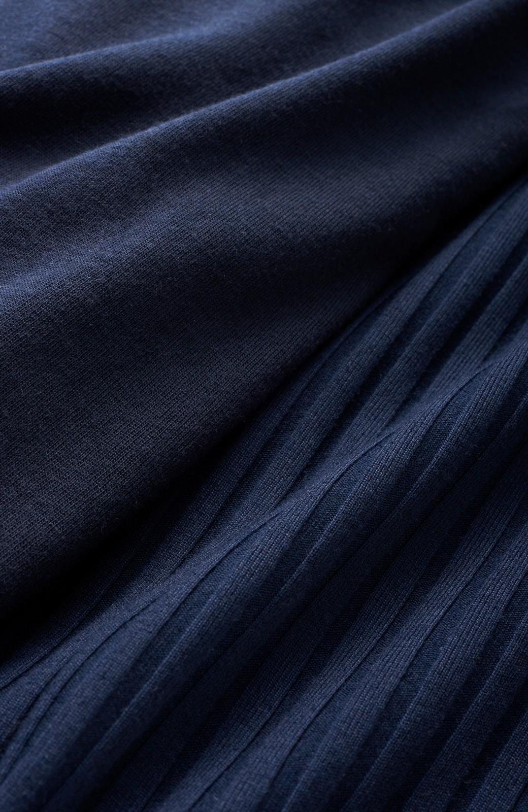 haco! 旅の救世主!3泊4日のテレコオールインワン&大人っぽTシャツセット <ネイビー>の商品写真2