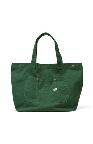 haco! Lee 大きい野菜もらくらく入るエコショッピングバッグ <グリーン>の商品写真