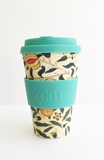 haco! ecoffee cup – William Morris 14oz <ミント>の商品写真