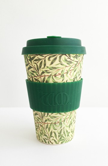 haco! ecoffee cup – William Morris 14oz <グリーン系その他;Pomegranate>の商品写真