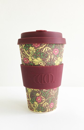 haco! ecoffee cup – William Morris 14oz <バーガンディー>の商品写真