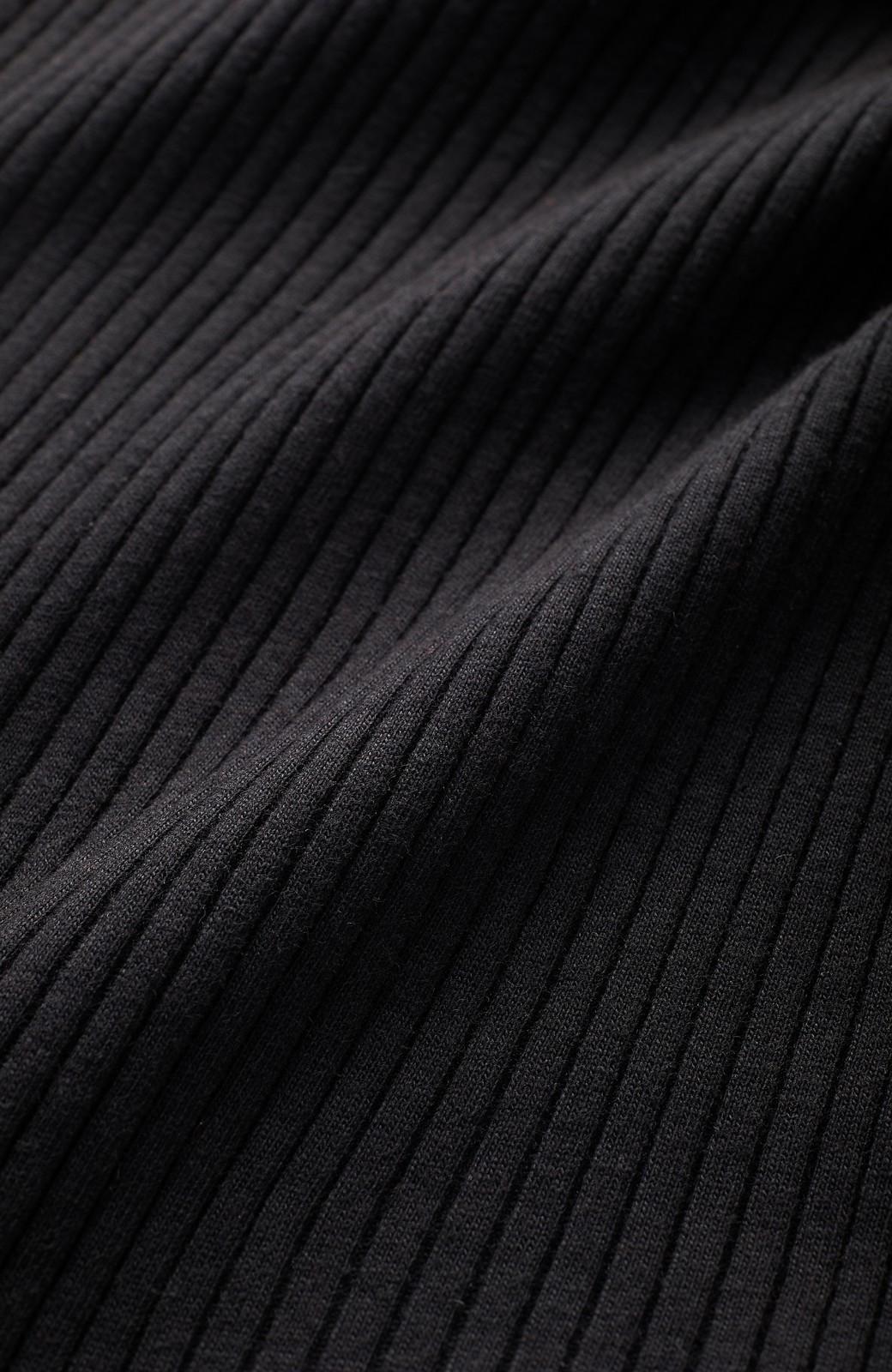 エムトロワ ひとクセ袖の上にも着られる!UVカット&吸水速乾素材のドルマン風カーディガン <ブラック>の商品写真3