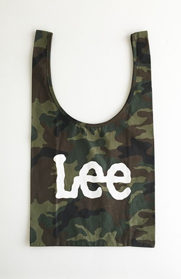 haco! Lee ショッピングバッグみたいなしっかり素材のコンビニエントエコバッグ <グリーン系その他>の商品写真