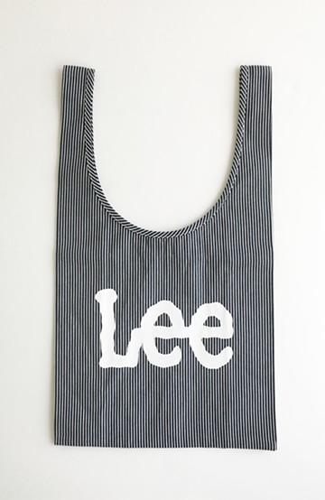 haco! Lee ショッピングバッグみたいなしっかり素材のコンビニエントエコバッグ <ブルー系その他>の商品写真
