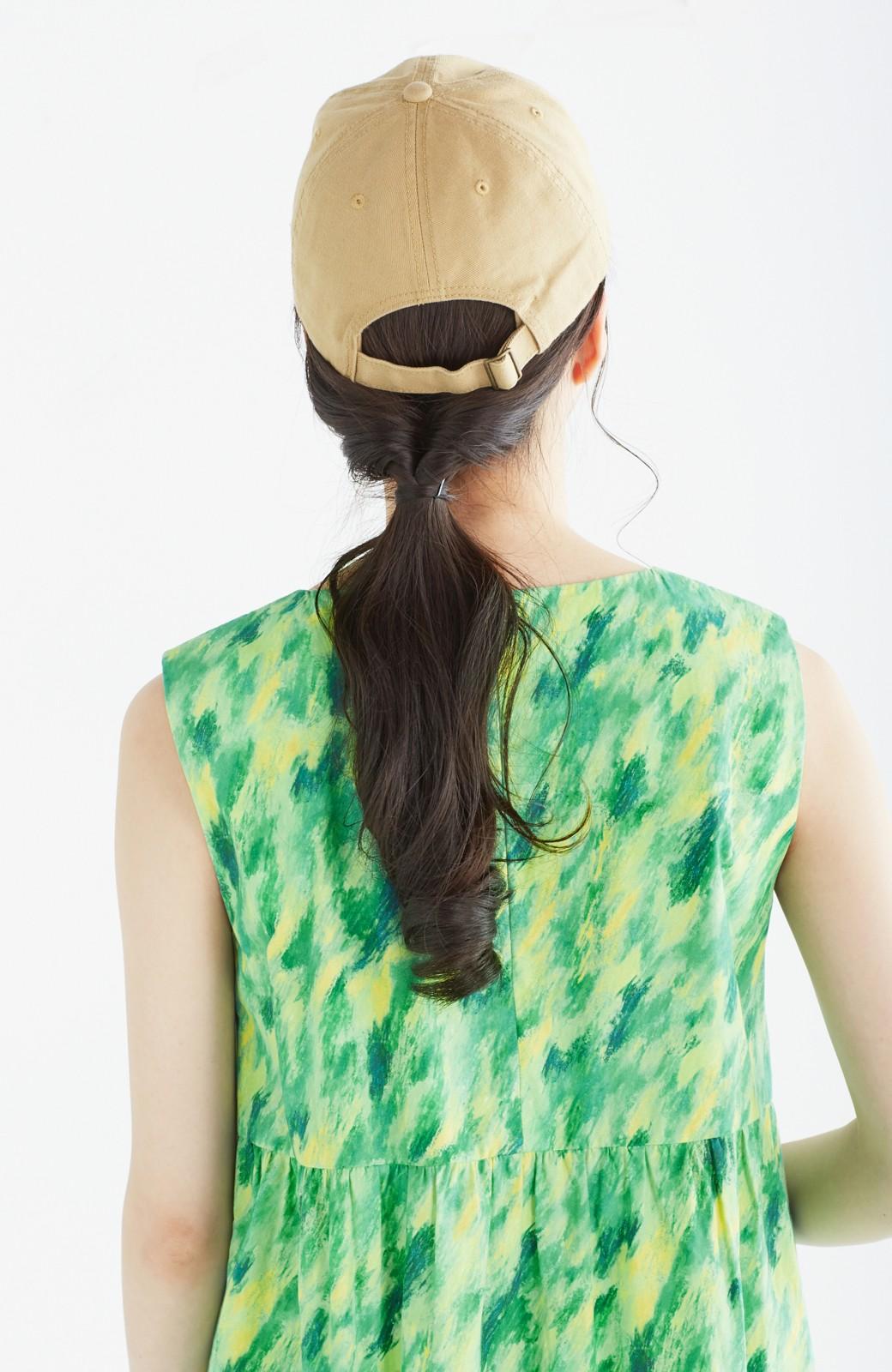 haco! UNICOLART mai [げんきになあれ] 大人も着られるノースリーブワンピース <グリーン系その他>の商品写真23