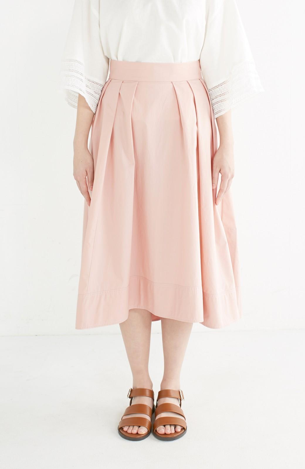 エムトロワ きれい色のイレギュラーヘムスカート <ピンク>の商品写真3