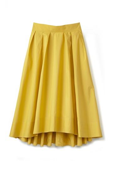 エムトロワ きれい色のイレギュラーヘムスカート <イエロー>の商品写真