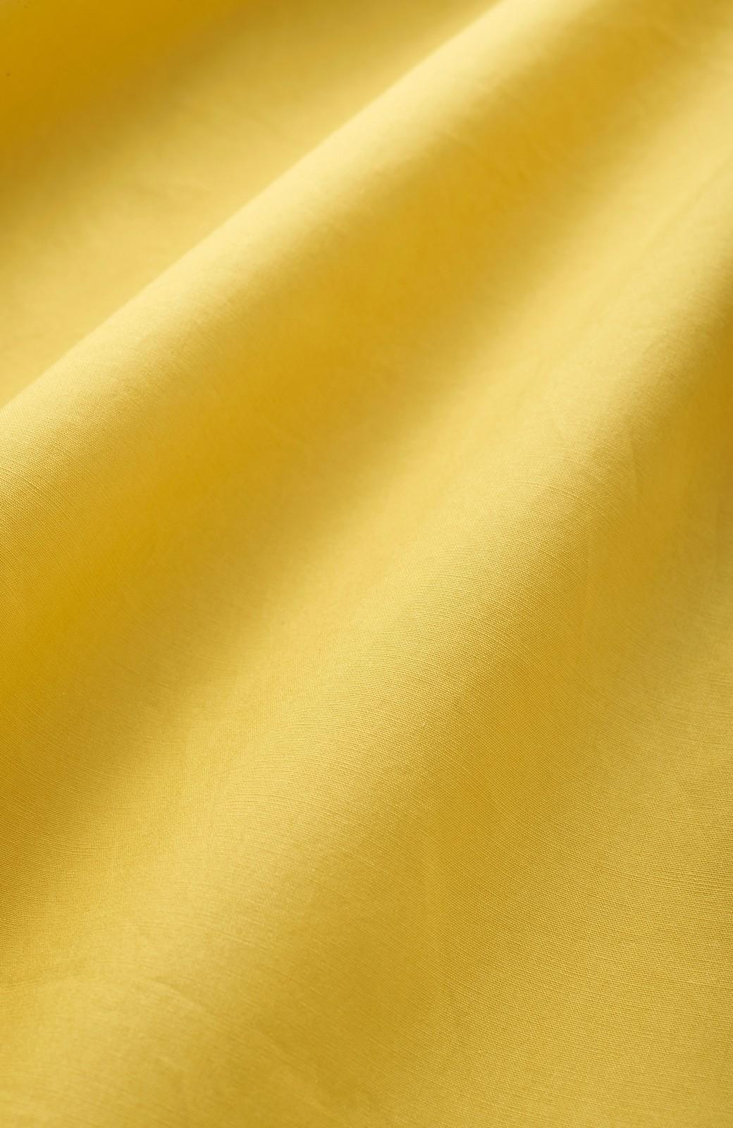 エムトロワ きれい色のイレギュラーヘムスカート <イエロー>の商品写真2