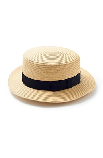 haco! カンカン帽 <ナチュラル>の商品写真