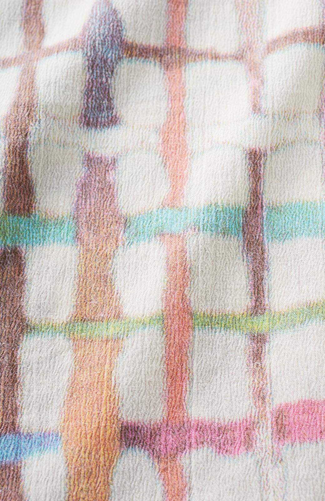 haco! 京都の浴衣屋さんと作った浴衣生地のスカート <ベージュ系その他>の商品写真2