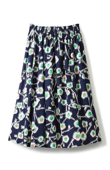 haco! 京都の浴衣屋さんと作った浴衣生地のスカート <ブルー系その他>の商品写真
