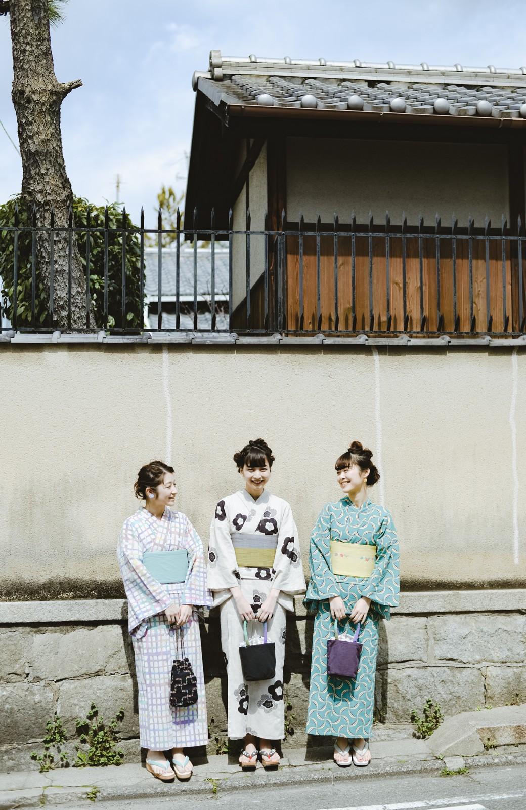haco! ひでや工房 京都のからみ織ジャカード浴衣 <ブラック系その他>の商品写真32